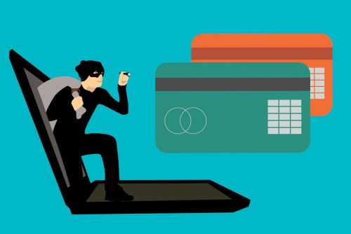 An illustration of cyber threats in banking